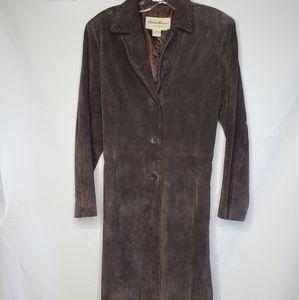 Eddie Bauer suede coat